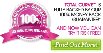 Total Curve is 100% guaranteed to work, or we'll refund your money